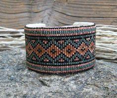 Southwestern Beaded Cuff Bracelet 2302