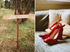future wedding shoes....ruby red slippers!