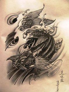 dragon koi - Google Search