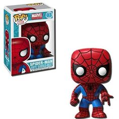 Funko POP! Marvel 4 Inch Vinyl Bobble Head Figure - Spider Man FunKo http://www.amazon.com/dp/B004R7PWBO/ref=cm_sw_r_pi_dp_Fqwuvb0FGD85S