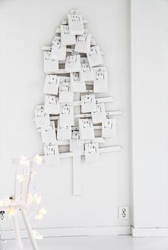 Elisabeth Heier Kalender Tree via SCANDINAVIAN CHRISTMAS Advent Calendar round-up on the Oaxacaborn blog
