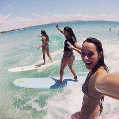 surfing selfie