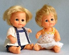 Carrie and Christopher dolls