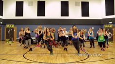 """Derrolo and Chris Brown """"Five More Hours"""" warm up dance fitness video by..."""
