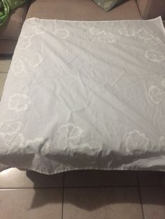 Square white table cloth Mattress, Bed, Crafty, Table, Clothes, Furniture, Home Decor, Outfit, Homemade Home Decor