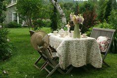 The Garden Tea Room | Aiken House & Gardens: Afternoon Tea in the Garden