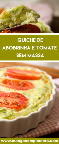 Easy Crustless Quiche Recipe, Spinach Quiche Recipes, Healthy Low Carb Recipes, Veggie Recipes, Vegetarian Recipes, Easy Cooking, Cooking Recipes, Eat Happy, Food And Drink