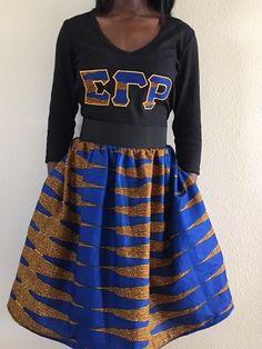 SGRHO Gathered Skirt
