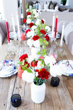 Home Of The Brave, Health And Wellbeing, Holidays And Events, Fourth Of July, Product Launch, Table Decorations, Party, Blog, Teacups