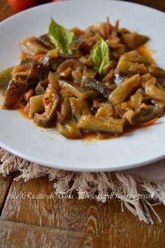 Melanzane bimby in umido,contorno facile | Ricette Bimby | Scoop.it