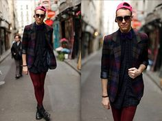Jared Ralys - Vintage Blazer, Ebay Baseball Hat, Vintage Button Up - Color Theory