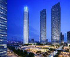 Wuhan Center in Wuhan, China — 1,437 feet