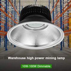 Warmoon 100W LED 6500k Daylight White LED High Bay Light