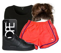"""""""#ContestOnTheGo #ContestEntry"""" by foreveryoung72 ❤ liked on Polyvore featuring Topshop, Victoria's Secret, Casetify, NIKE, contestentry and ContestOnTheGo"""