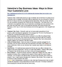 Valentine's Day Business Ideas- Ways to Show Your Customers Love-http://hendrengroup.biz/blog/2013/02/09/valentines-day-business-ideas-ways-to-show-your-customers-love/