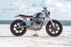 Yamaha SR500 by Bunker of Istanbul