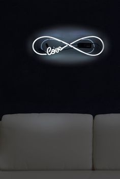 Image of Oliver Gal Gallery 22x7 Love Infinity Neon Sign