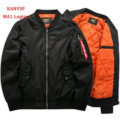 Cheap flight jacket, Buy Quality mens bomber jacket directly from China bomber jacket Suppliers: 2017 High Quality Thick Winter Army Green Military motorcycle Flight Jacket Pilot Air Force Men Bomber Jacket Kanye West Tour, Flight Pilot, Army Green Bomber Jacket, Cargo Jacket, Green Jacket, Army Coat, Windbreaker Jacket, Hip Hop, Polyester Material