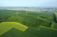 wind farm in france