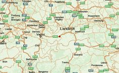nice Map of Landeck