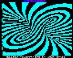 TeletextR: Teletext = 1024 bytes by Carlos