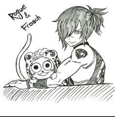 Rogue Cheney Frosch Fairytail