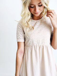 Elizabeth Linen Dress pastel pink