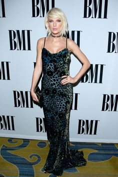 Taylor on the red carpet at the 64th annual BMI Pop Awards 5.10.16