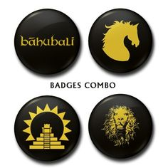 Badges Super Saver Pack for Rs 350 #Baahubali #moviemerchandise #onlineshopping