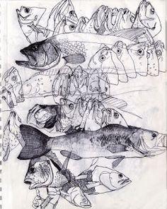 Совместная онлайн зарисовка #26: Рыбы