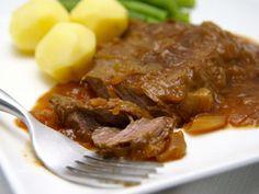 Draadjes vlees of runderlappen naar grootmoeders recept.Het is niet tijdrovend…