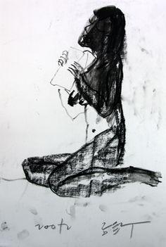 https://www.facebook.com/sahong.gum GumSahong,Nude,Pen,Drawing 금사홍,누드,드로잉,연필