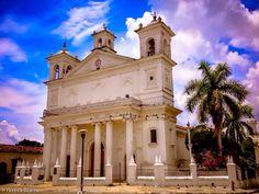 Iglesia Santa Lucia, Suchitoto, Cuscatlán.