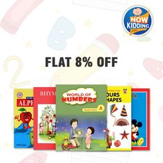 Let your child explore the real world of objects, shapes, letters, art, music, poetry etc. Order Baby books now at 8% FLAT OFF