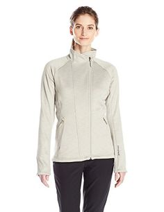 adidas Outdoor Womens Climaheat Fleece Jacket Small Sesame *** Find out more about the great product at the image link.