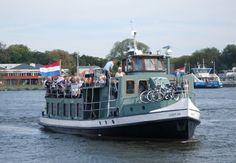 Varend van Amsterdam naar Zaandam en weer terug! - Hollandsche Vaartochten Maatschappij