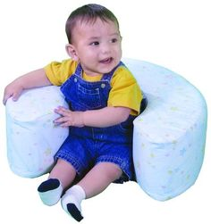 Hug-A-Baby Sit Up Ring. I like this style better than a boppy pillow. More support.