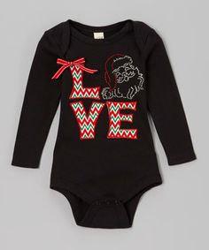 With vibrant appliqués and a sprinkling of rhinestones, this twinkling bodysuit surely earns its place on the nice list. A cotton construction paired with a lap neck and snap closures provides ultimate comfort with convenience.
