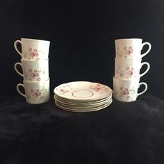 A personal favorite from my Etsy shop https://www.etsy.com/ca/listing/462248873/vintage-teacup-setpink-floral-bone-china