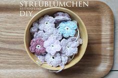 Streublümchen, häkeln, Daisys, Häkelblümchen, DIY, Dekoblog, Häkelblog, DIY-Blog, Anleitung