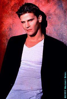 Angel (Buffy the Vampire Slayer and Angel) Season One before he started looking like an aging vampire.