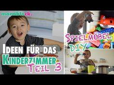 Vom Babyzimmer zum Kinderzimmer   DIY Spielmöbel   Roomtour   mamiblock - YouTube
