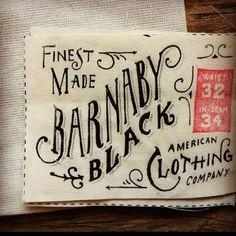 vintage typography.