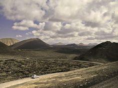 Carretera en Timanfaya by Pedro Flores, via 500px
