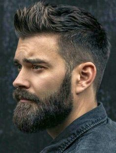 An awesome collection of the best beard styles for short beards, medium beards, long beards and everything in between. Showcasing the best beards of the best beard styles. Get ideas to grow your beard for longer or shorter styles. Thick Beard, Beard Fade, Short Beard, Stubble Beard, Men Beard, Hairstyles Haircuts, Haircuts For Men, Cool Hairstyles, Latest Hairstyles