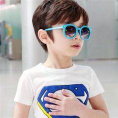 ba548114ca2 Kids Toddlers Fashion Round Sunglasses Arrow Style Eyeglasses ... Kids  Shop