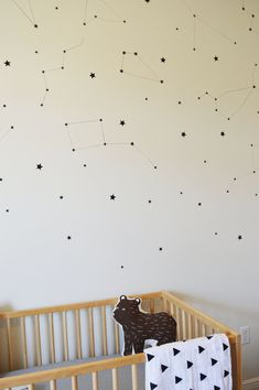 Star wall decals // wall decals // peel and by thisismommylife
