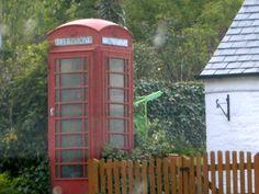 phone box Dumfries, Scotland