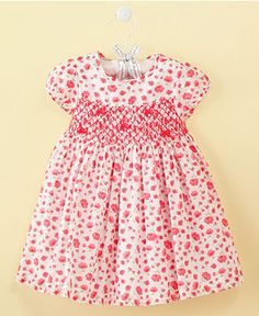 We love smocked dresses for Babies