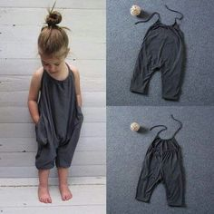DIY for little girl romper